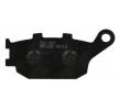 NHC Stabdžių trinkelių rinkinys, diskinis stabdys H1057-AM300 KAWASAKI