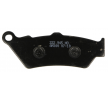NHC Brake Pad Set, disc brake Front, Rear H1080AM300