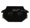 NHC Stabdžių trinkelių rinkinys, diskinis stabdys H1088-AM300 KYMCO