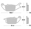 NHC Bremžu uzliku kompl., Disku bremzes aizmugurē H1100AK150