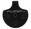 NHC Brake Pad Set, disc brake Front HD6009AK150