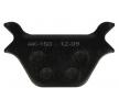NHC Brake Pad Set, disc brake Rear HD6011AK150