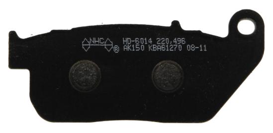 NHC Zestaw klocków hamulcowych, hamulce tarczowe z przodu HD6014-AK150 HARLEY-DAVIDSON