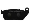 NHC Brake Pad Set, disc brake Front HD6014AK150