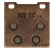 NHC Kit de plaquettes de frein, frein à disque avant, arrière K5012CU1