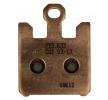 K5045-CU1 NHC Brake Pad Set, disc brake - buy online