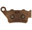 NHC Brake Pad Set, disc brake Front, Rear O7032-CU1 SWM