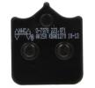 NHC Brake Pad Set, disc brake Front O7078-AK150 DUCATI