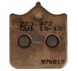 NHC Brake Pad Set, disc brake Front O7078CU1