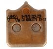 NHC Brake Pad Set, disc brake Front O7078CU7
