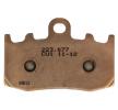 NHC Brake Pad Set, disc brake Front O7090CU1