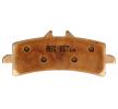 NHC Brake Pad Set, disc brake Front O7124CU1