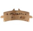 NHC Brake Pad Set, disc brake Front O7124CU7