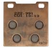 NHC Kit de plaquettes de frein, frein à disque avant, arrière S3019CU1