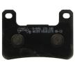 NHC Kit de plaquettes de frein, frein à disque avant S3056AK150