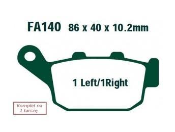Sada brzdových destiček, kotoučová brzda FA140 ve slevě – kupujte ihned!