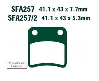 Bremsklötze EBC Brakes SFA257