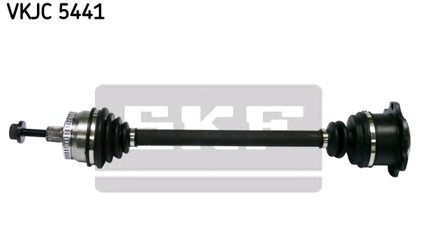 Köp SKF VKJC 5441 - Drivaxel och till Volkswagen: L: 596mm, Yttre kuggar hjulsidan: 33, Kuggar ABS-ring: 45