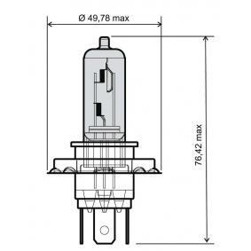 24 651 0065 RMS 35 / 35W, H4, 12V Glödlampa, fjärrstrålkastare 24 651 0065 köp lågt pris