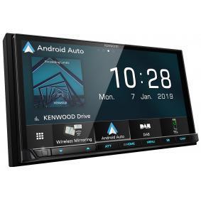 DMX-8019DABS KENWOOD 800х480, USB, RCA, AV, DAB+ tuner, HDMI, 7tum, 2 DIN, Apple CarPlay, Android Auto, Made for iPod/iPhone, 4x50W TFT, Bluetooth: Ja Multimediamottagare DMX-8019DABS köp lågt pris
