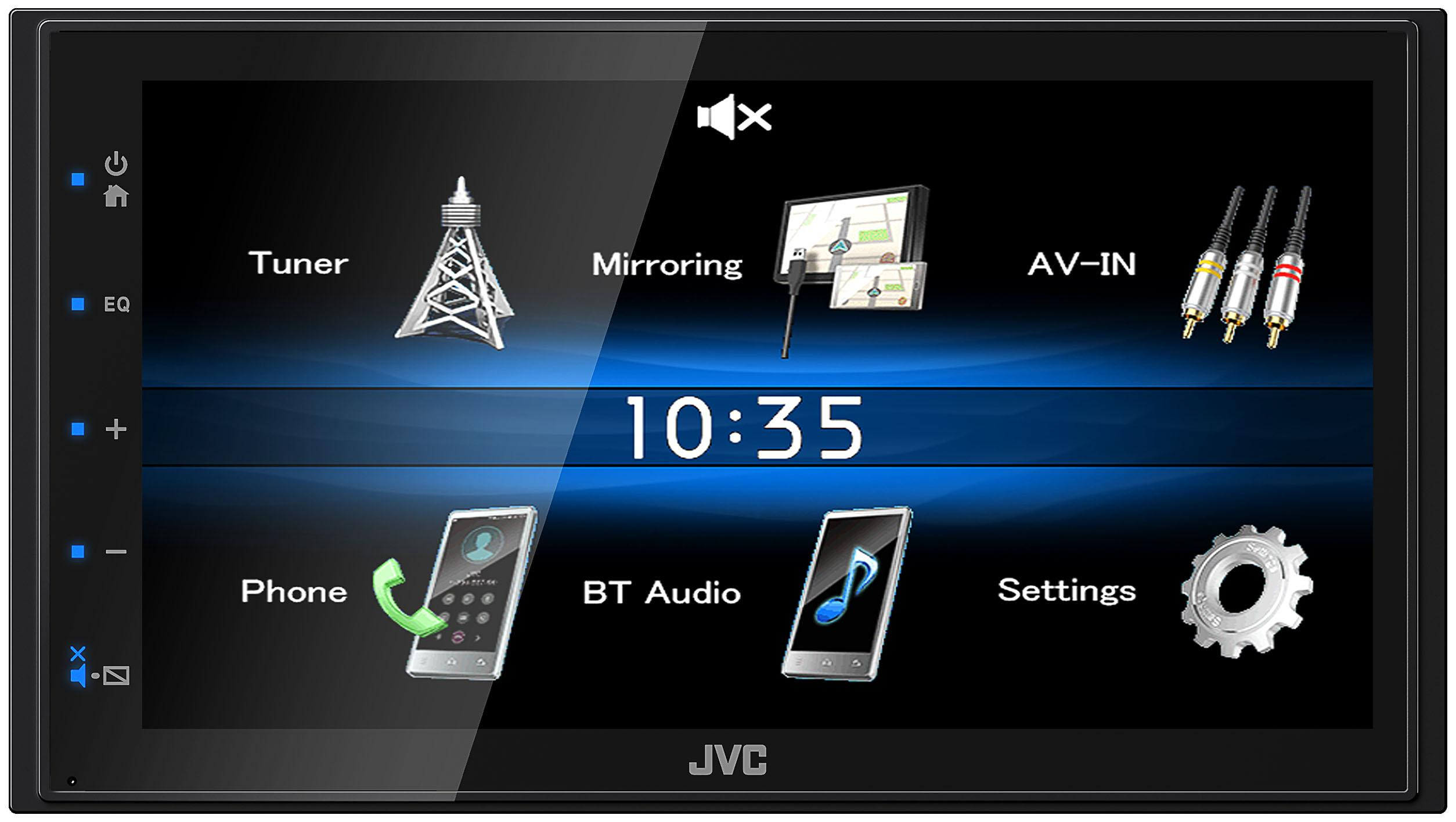KW-M25BT JVC 6.8in, 2 DIN, 4x50W Pantalla para coche KW-M25BT a buen precio
