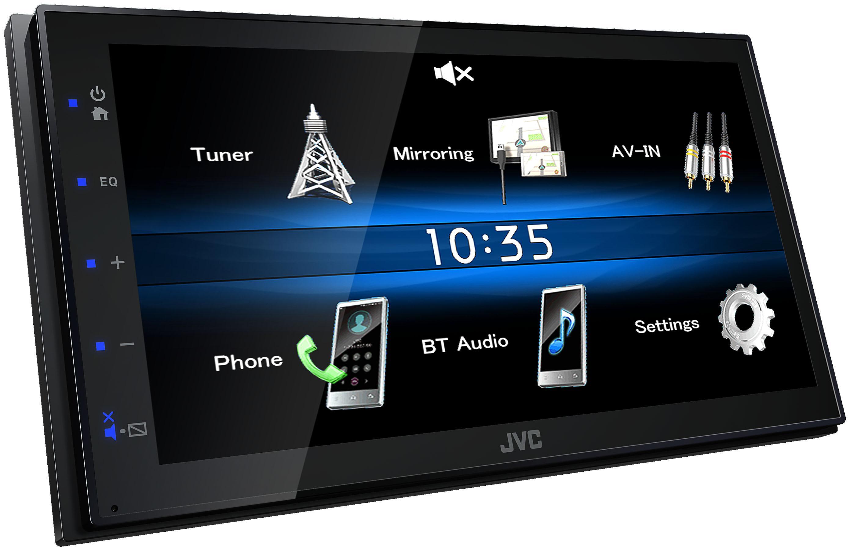 KW-M25BT Pantalla para coche JVC - Productos de marca económicos
