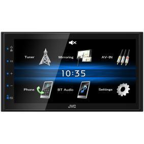 KW-M25BT JVC 800х480, USB, 6.8Zoll, 2 DIN, Made for iPod/iPhone, 4x50W TFT, Bluetooth: Ja Multimedia-Empfänger KW-M25BT