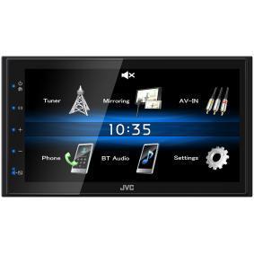 KW-M25BT JVC 800х480, USB, 6.8tum, 2 DIN, Made for iPod/iPhone, 4x50W TFT, Bluetooth: Ja Multimediamottagare KW-M25BT köp lågt pris