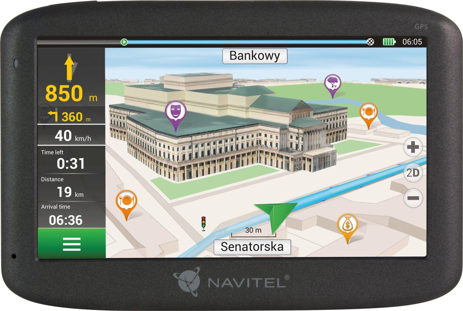 NAVE500 NAVITEL Bluetooth: Nein, Windows CE 6.0 Navigationssystem NAVE500 günstig kaufen