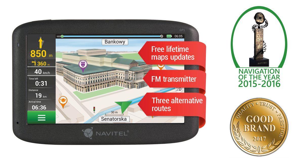 NAVE500 Navigatiesysteem NAVITEL Test