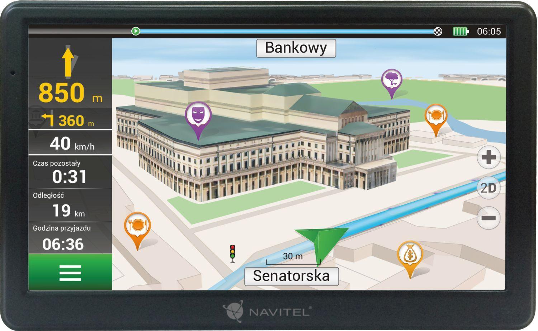 Comprare NAVE700 NAVITEL con borsa custodia, Wi-Fi: No, Windows CE 6.0 Sistema di navigazione NAVE700 poco costoso