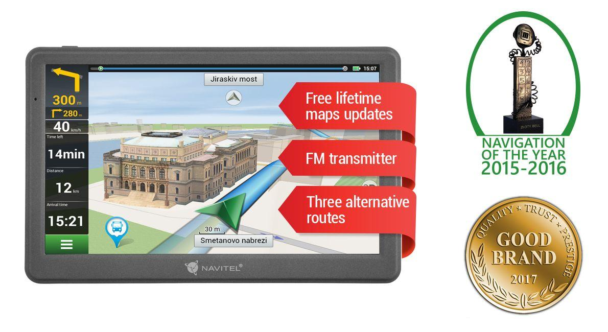 NAVE700 Navigační systém NAVITEL originální kvality