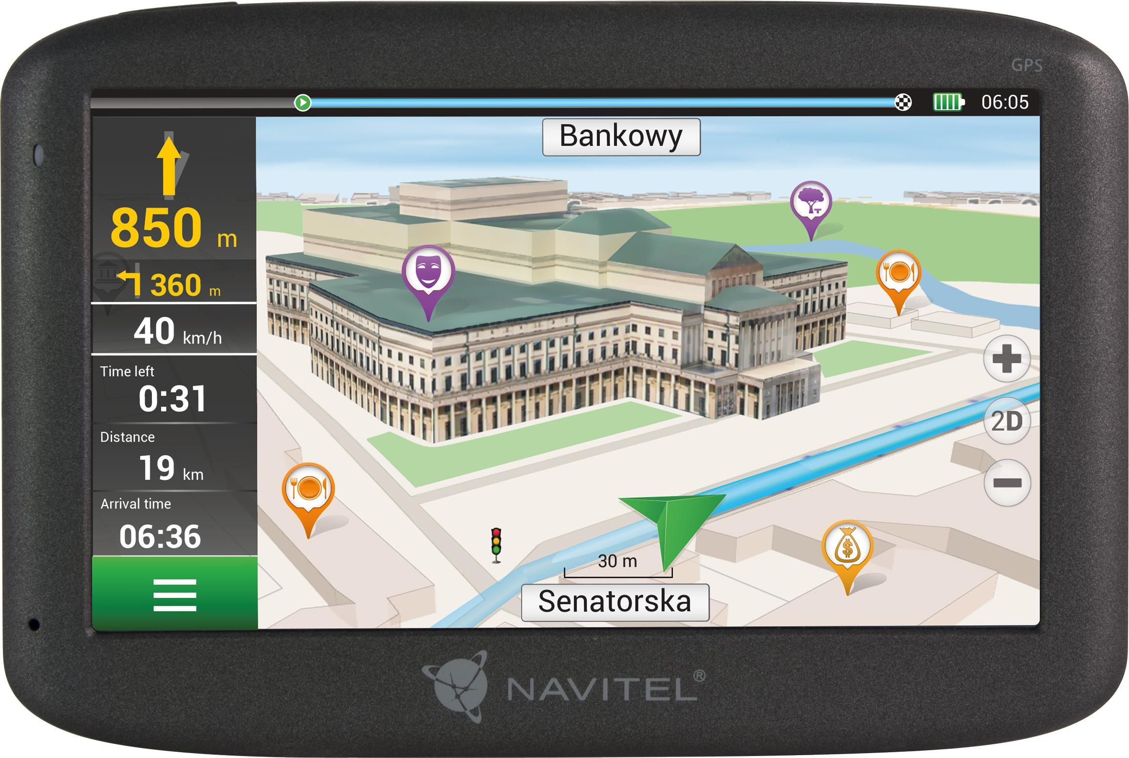 NAVMS400 NAVITEL Wi-Fi: Nee, Windows CE 6.0 Navigatiesysteem NAVMS400
