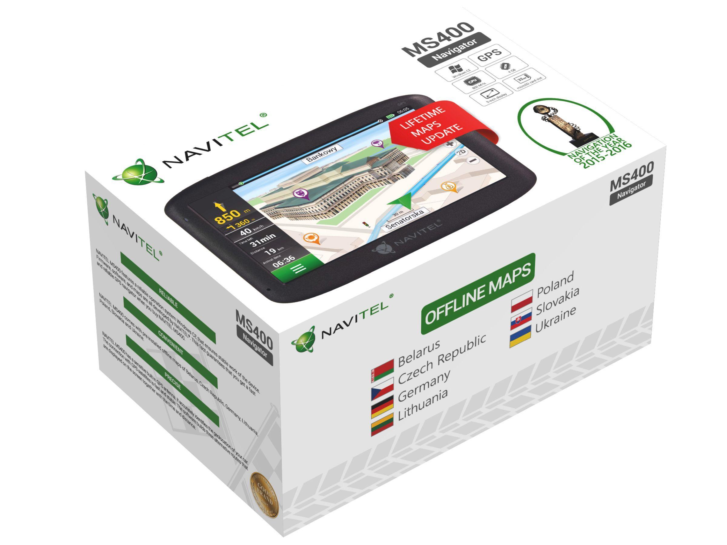 NAVMS400 Navigatiesysteem NAVITEL - Bespaar met uitgebreide promoties