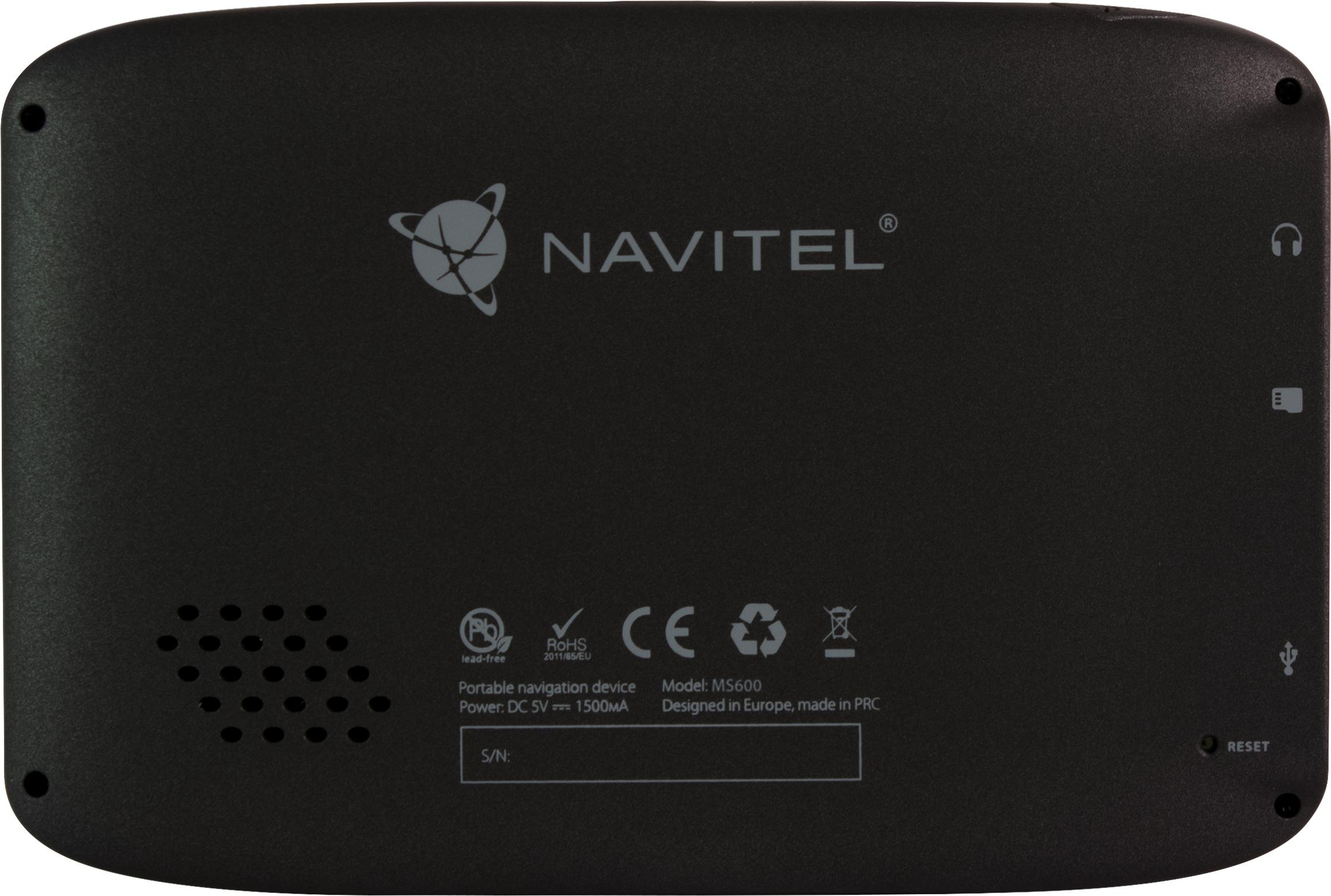 NAVMS400 Navigační systém NAVITEL Test