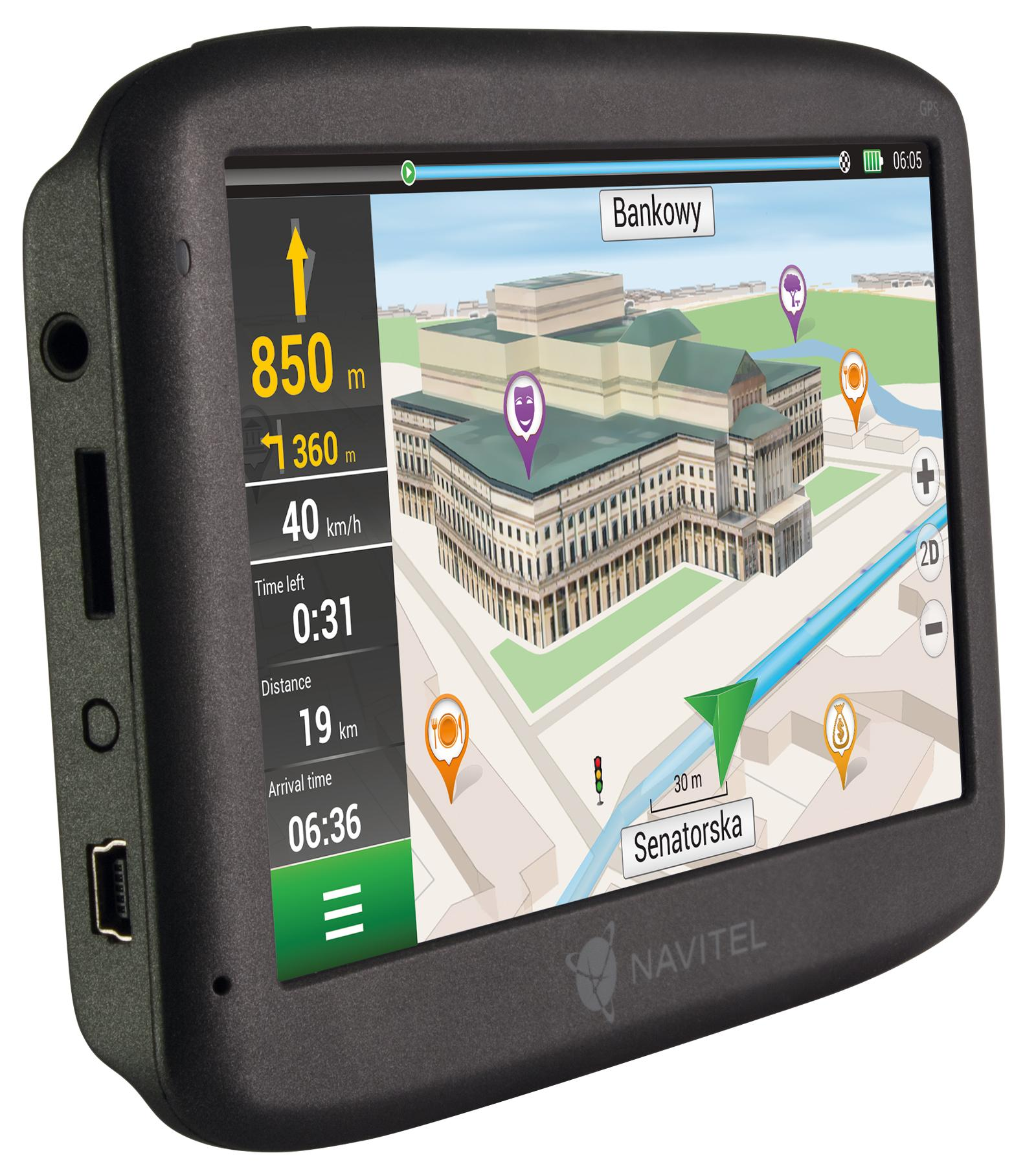 Navigační systém NAVMS400 od NAVITEL