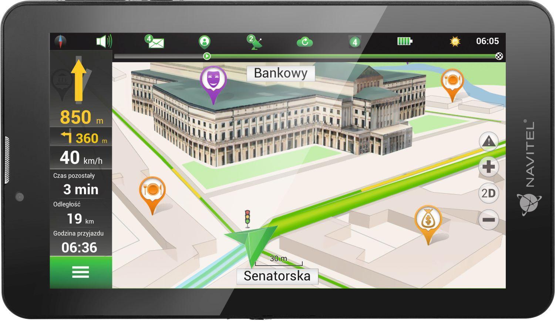 NAVT7003G NAVITEL Bluetooth: Ano, Android Navigační systém NAVT7003G kupte si levně
