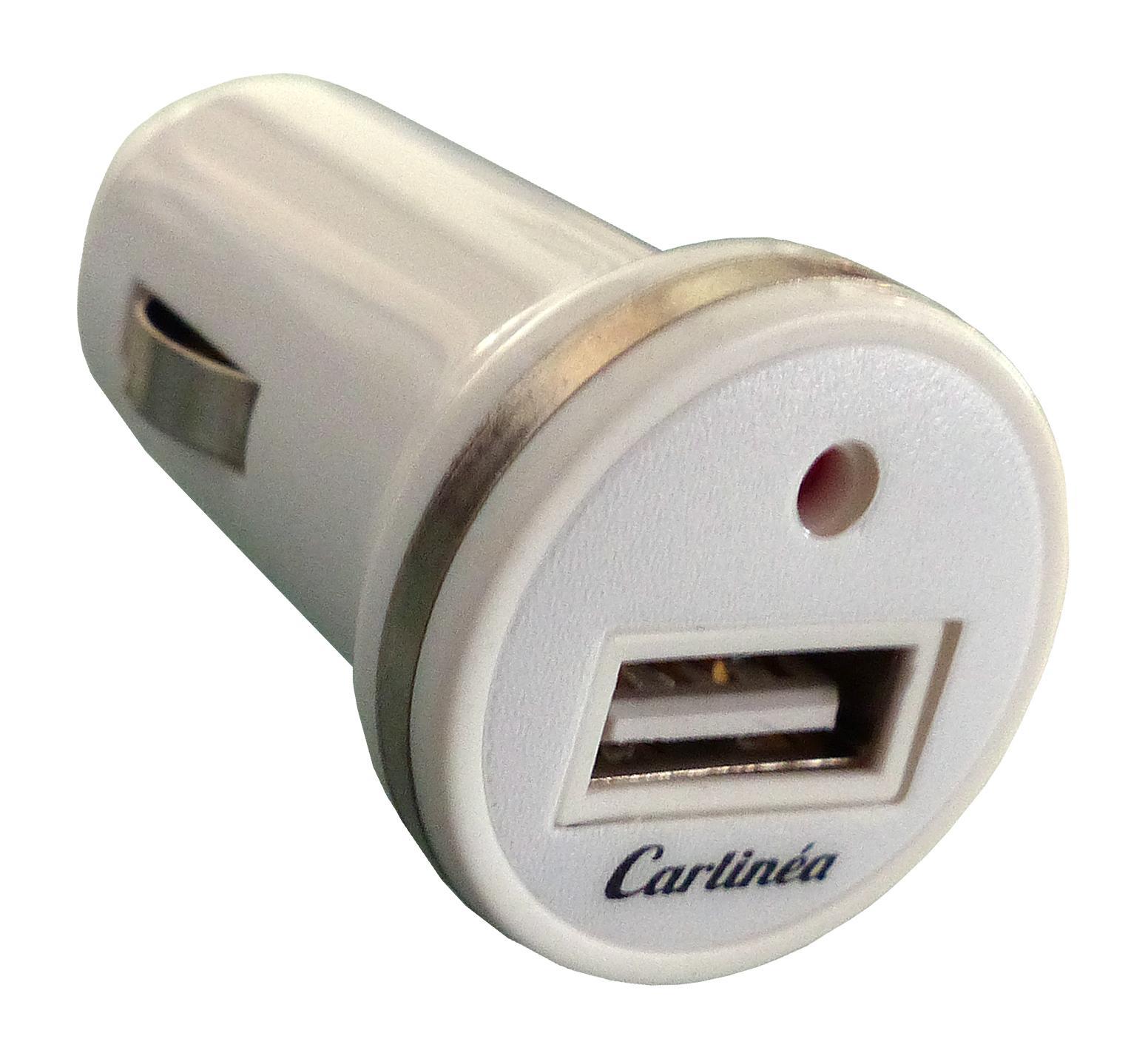 485022 Carlinea Anzahl d. Ein-/Ausgänge: 1 USB Eingangsspannung: 12, 24V KFZ-Ladekabel für Handys 485022 günstig kaufen