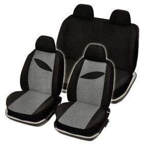 167875 RED SIGN vorne und hinten, schwarz, Polyester, Mengeneinheit: Satz Anzahl Teile: 10-tlg. Sitzschonbezug 167875 günstig kaufen