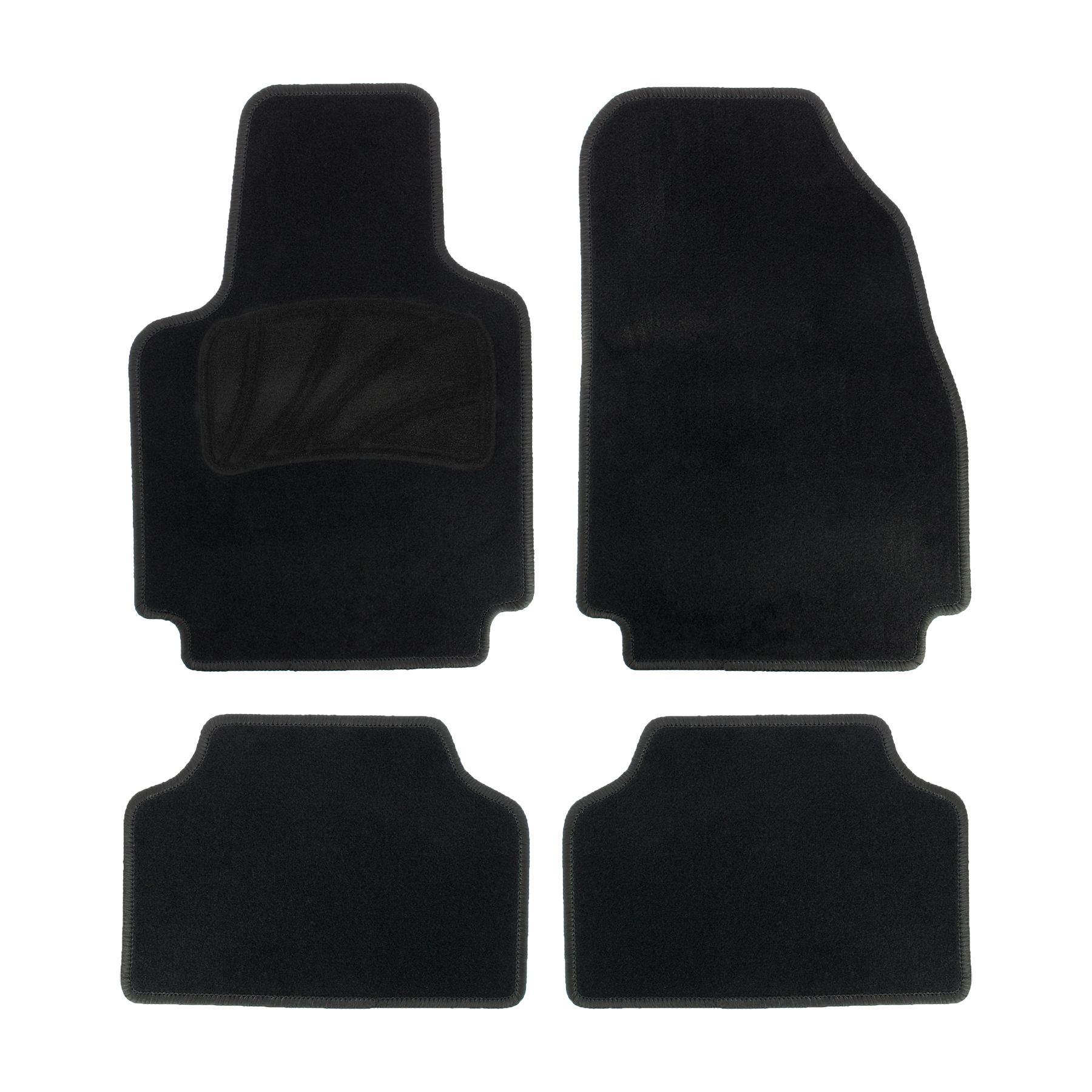 165156 RED SIGN Universelle passform PP (Polypropylen), vorne und hinten, Menge: 4, schwarz Autofußmatten 165156 günstig kaufen