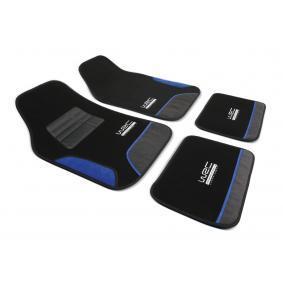 007436 WRC Uniwersalny PP (polipropylen), z przodu i z tyłu, Ilość: 4, czarny, niebieski Rozmiar: 43*66, Rozmiar: 41*30 Zestaw dywaników podłogowych 007436 kupić niedrogo