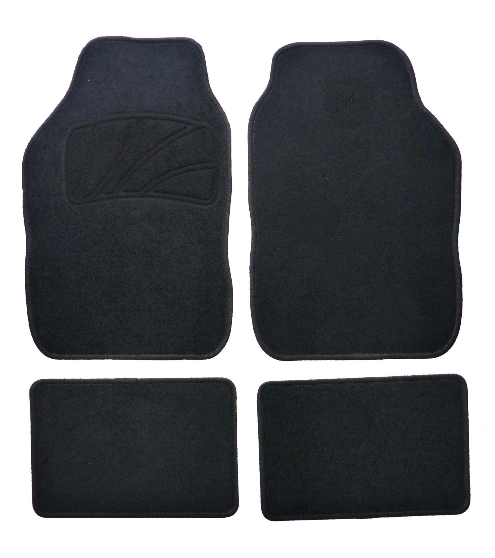 Achat de 551508 XL Adaptation universelle Textile, avant et arrière, Quantité: 4, noir Ensemble de tapis de sol 551508 pas chères