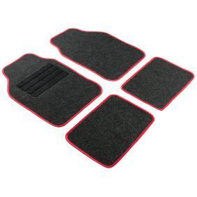 14460 WALSER Uniwersalny Tekstylia, z przodu i z tyłu, Ilość: 4, czarny Rozmiar: 68x44, Rozmiar: 33x44 Zestaw dywaników podłogowych 14460 kupić niedrogo