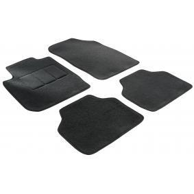 14602 WALSER Na miarę Tekstylia, z przodu i z tyłu, Ilość: 4, czarny Zestaw dywaników podłogowych 14602 kupić niedrogo