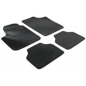 14603 WALSER Voor en achter, Zwart, Textiel, Aantal: 4 Vloermatset 14603