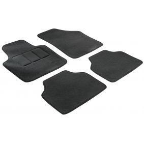 14610 WALSER Maßgefertigt Textil, vorne und hinten, Menge: 4, schwarz Autofußmatten 14610 günstig kaufen
