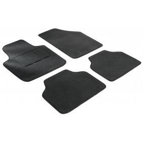 14612 WALSER Maßgefertigt Textil, vorne und hinten, Menge: 4, schwarz Autofußmatten 14612 günstig kaufen