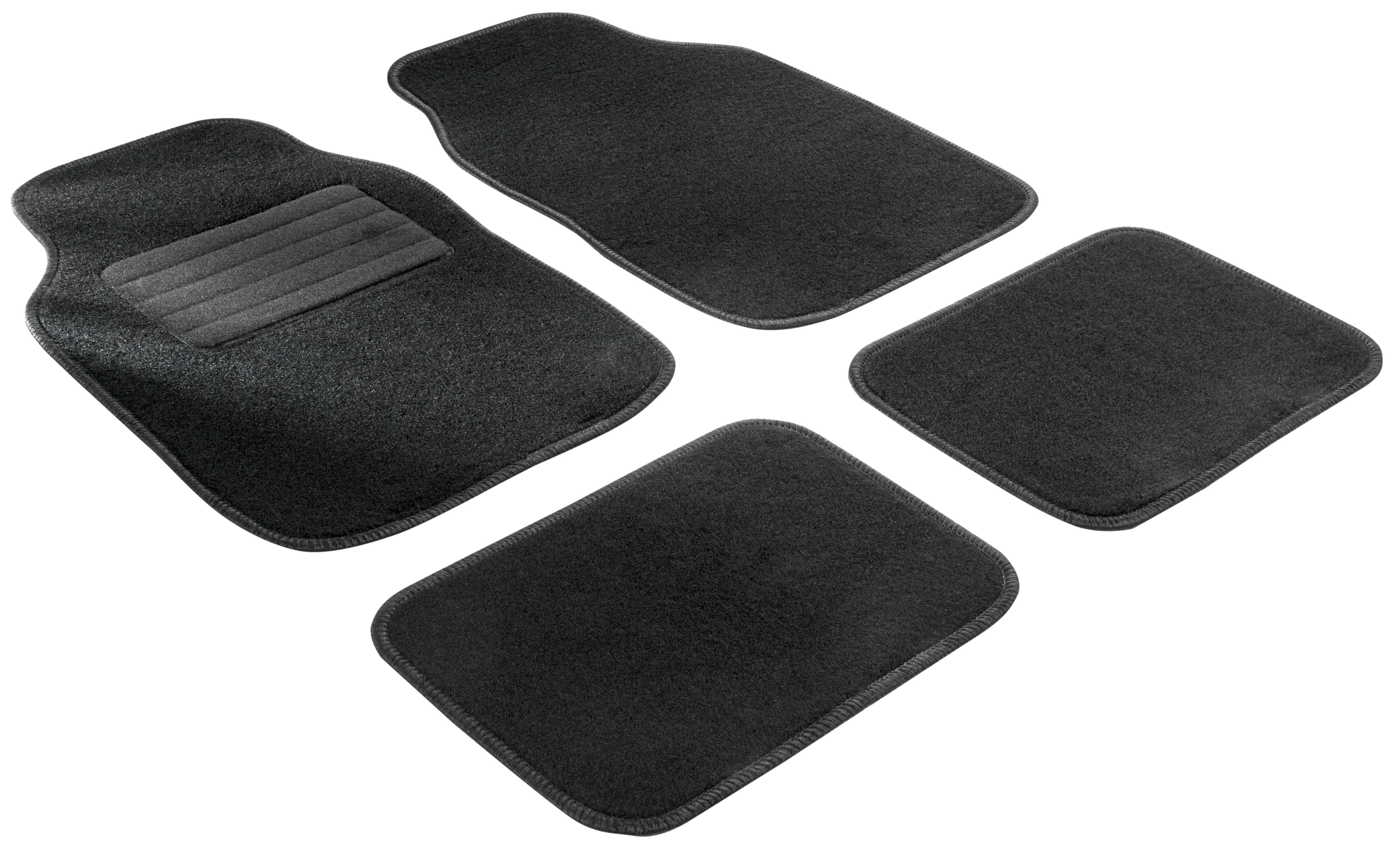 14705 WALSER Universelle passform Textil, vorne und hinten, Menge: 4, schwarz Größe: 29.5 x 43.5, 32 x 43.5, 67.5 x 43.5 Autofußmatten 14705 günstig kaufen