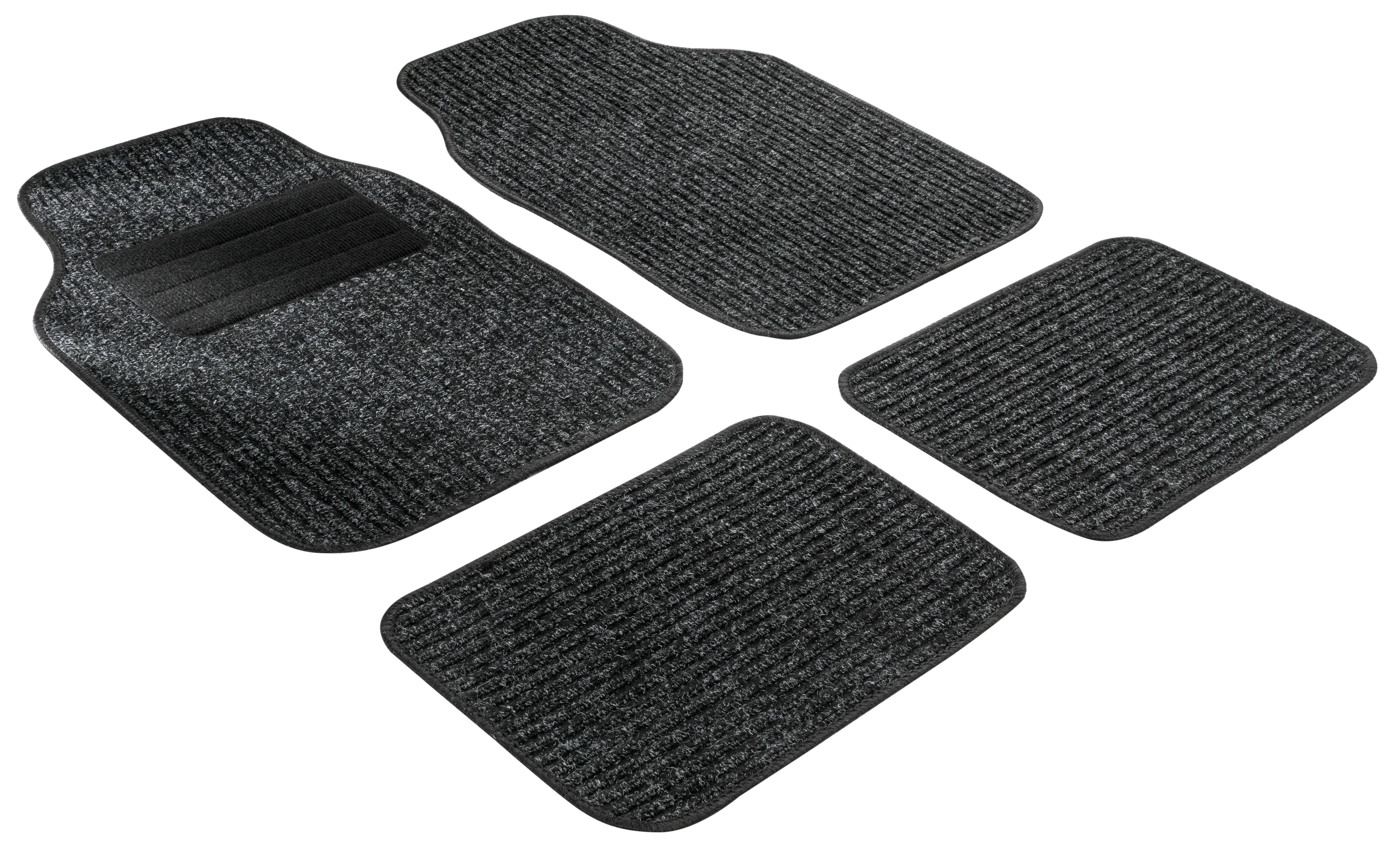 14805-0 WALSER Universelle passform PP (Polypropylen), vorne und hinten, Menge: 4, schwarz Größe: 67 x 30, Größe: 45 x 30, Größe: 33 x 45 Autofußmatten 14805-0 günstig kaufen