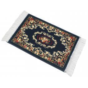 14810 WALSER z przodu, niebieski, PP (polipropylen), Ilość: 1 Rozmiar: 75 x 40 Zestaw dywaników podłogowych 14810 kupić niedrogo